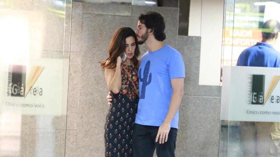 Fátima Bernardes ganha i do namorado, Túlio Gadêlha - Thiago Martins/AgNews
