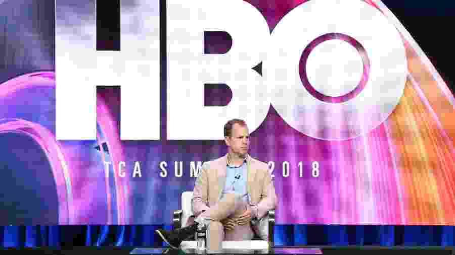Casey Bloys, da HBO, durante evento realizado nesta quarta-feira (25) - Frederick M. Brown/Getty Images