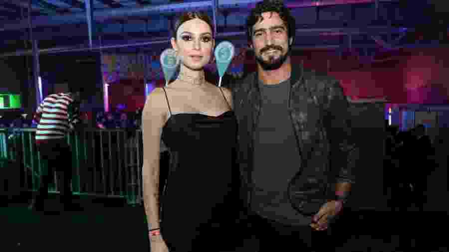 Thaila Ayala e Renato Góes no Baile da Favorita, no Rio - Reginaldo Teixeira/CS Eventos