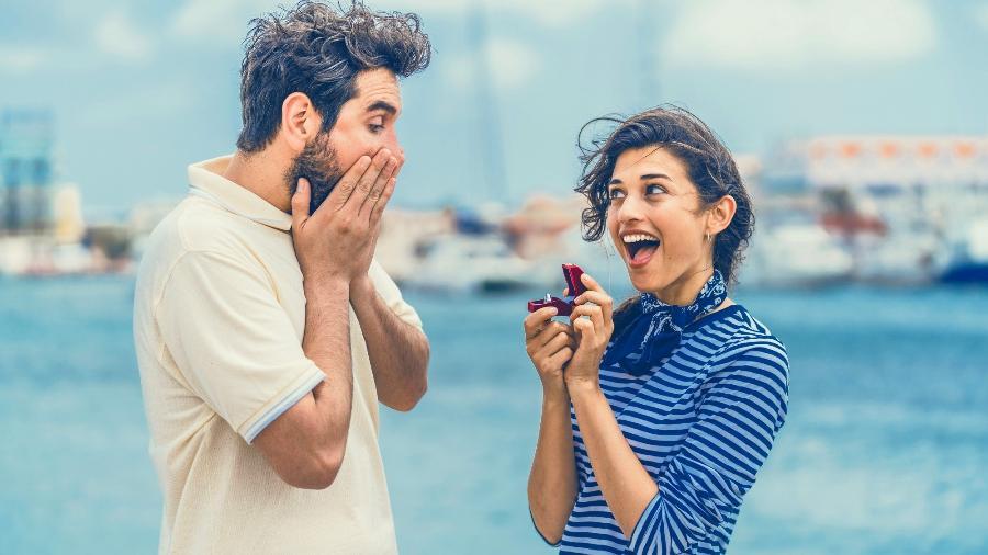 Aruba quer inverter os papéis na hora do pedido de matrimônio - Divulgação/Autoridade de Turismo de Aruba