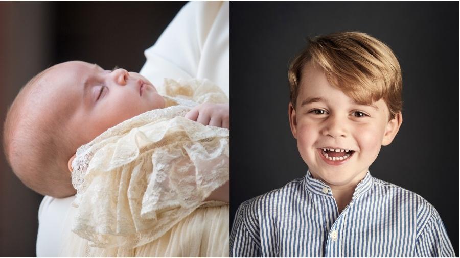 Príncipes George e Louis de Cambridge - Getty Images