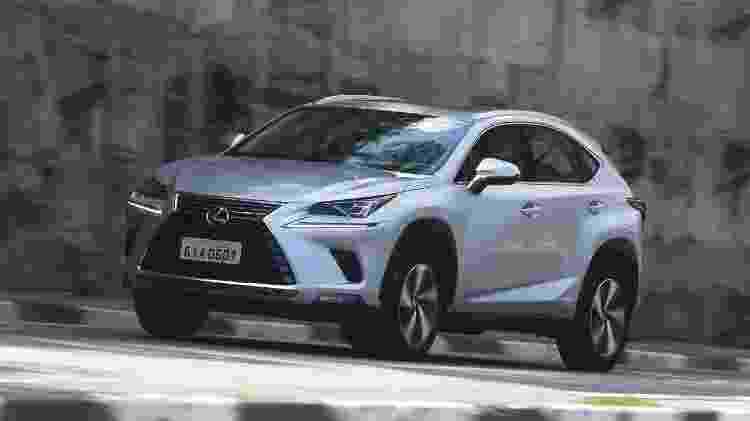 Lexus NX 300h - Murilo Góes/UOL - Murilo Góes/UOL