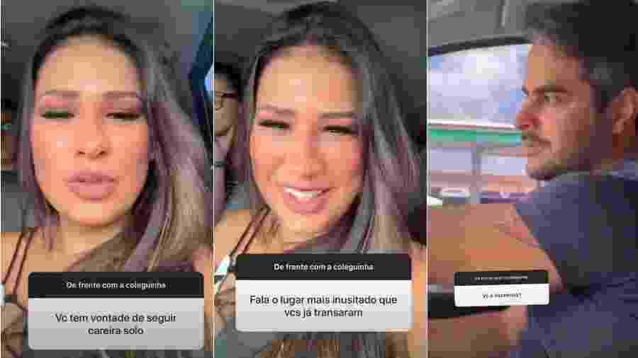 Simone responde pergunta de fãs ao lado do marido, Kaká Diniz - Reprodução/Instagram