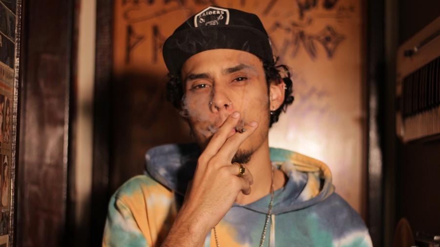 O rapper mineiro Rad, que lança seu primeiro trabalho - Divulgação