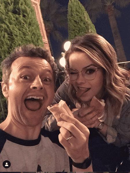 Lucas Lima e Sandy na Disney - Reprodução/Instagram