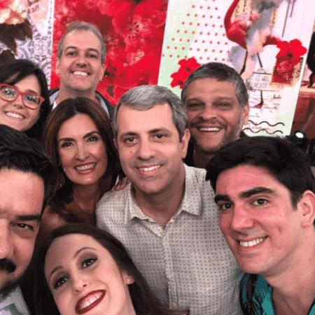 """Elenco do """"Tá no Ar"""" com Fátima Bernardes - Reprodução/Instagram"""