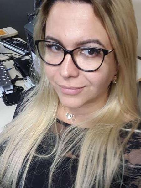 A inspetora penitenciária Bruna: recebeu acolhimento durante transição - Reprodução/Arquivo pessoal