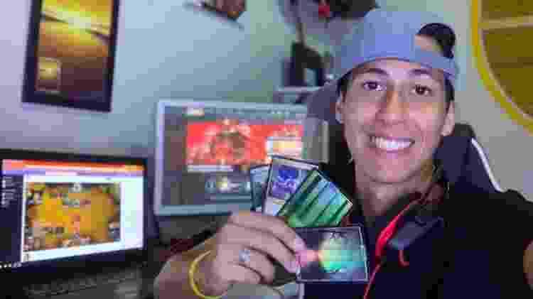 """""""Magic é Magic!"""" - Brayan Falcon - Arquivo Pessoal"""