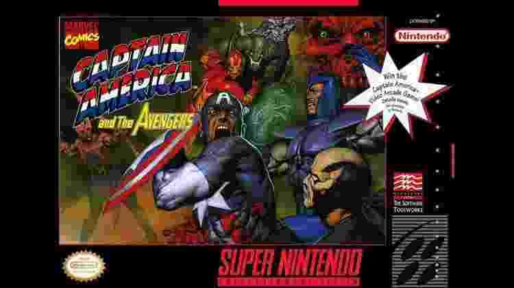 Captain America and The Avengers 1 - Reprodução - Reprodução
