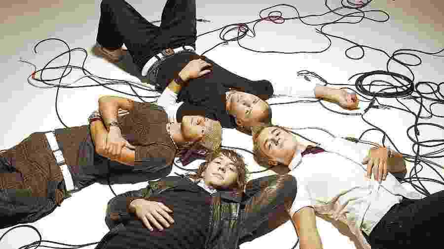 Integrantes da banda inglesa McFly - Divulgação