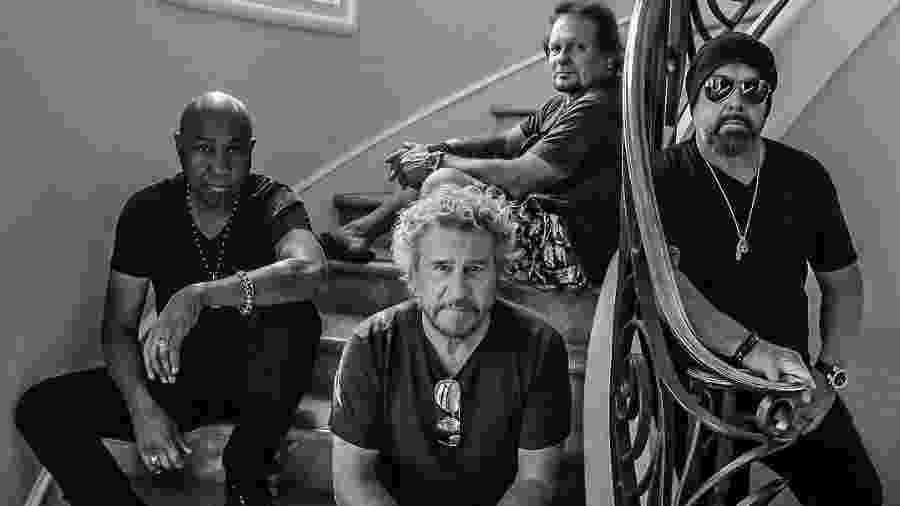 A banda Sammy Hagar & The Circle - Divulgação