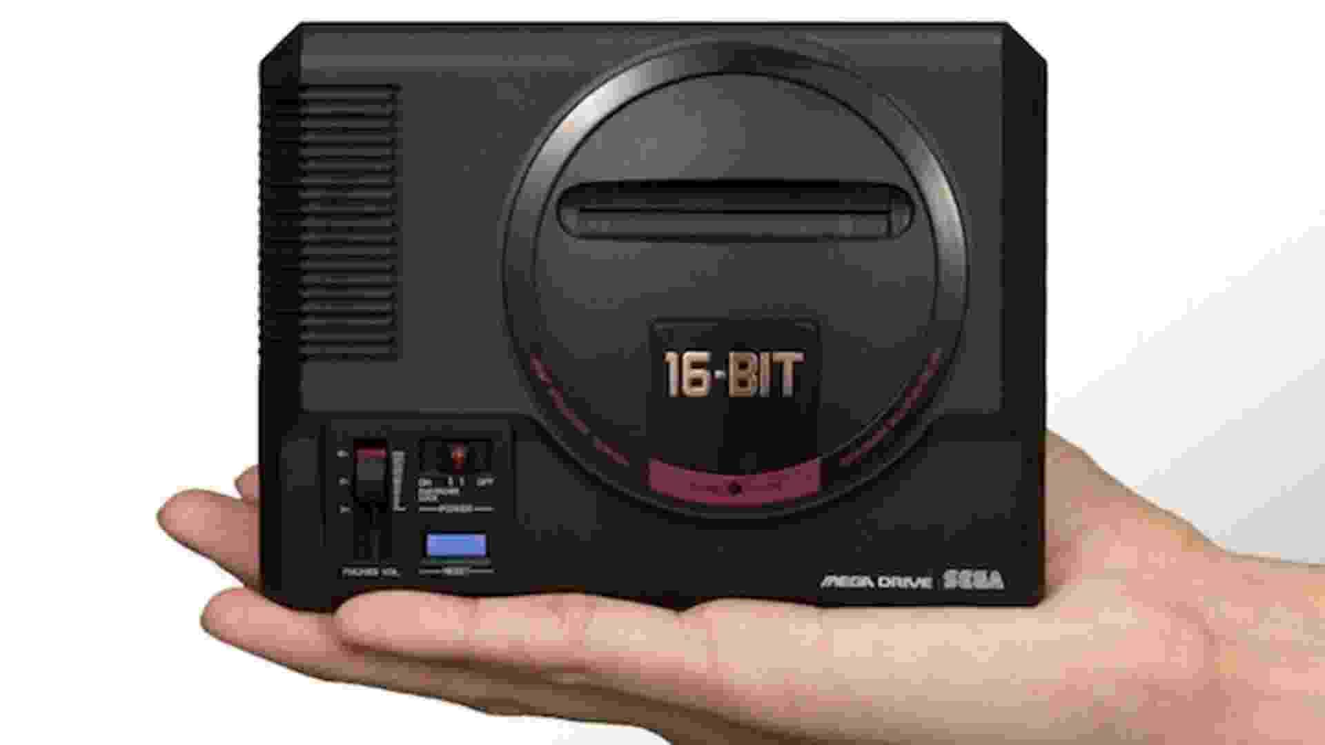 Mega Drive Mini - Reprodução