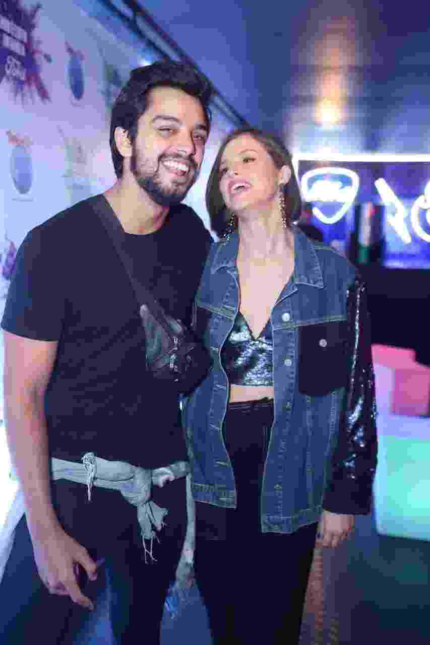 Rodrigo Simas e Agatha Moreira curtem o primeiro dia do Rock in Rio - Daniel Pinheiro/AgNews
