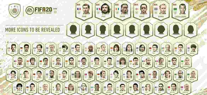 FIFA 20 Ícones - Divulgação