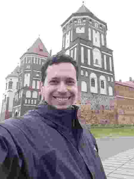 Igor Galli está de quarentena em Brest, na fronteira com a Ucrânia - Arquivo pessoal