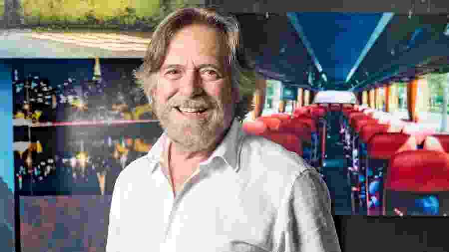 O ator José de Abreu, que acaba de encerrar uma relação de 40 anos com a Globo e está vivendo na Nova Zelândia - João Miguel Júnior/Globo