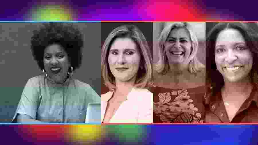 Joana Mendes, Andreia Dutra, Maitê Schneider e Andrea Cruz participam do quarto dia de evento - UOL