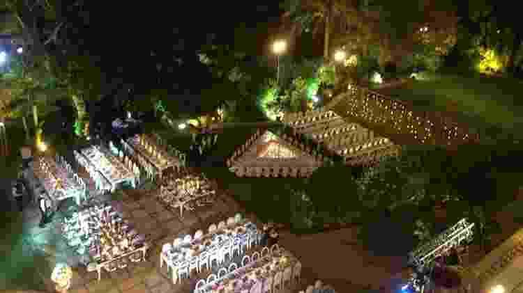 Jardim Palácio Sorsack - Reprodução - Reprodução