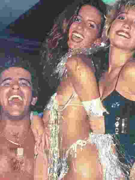 Adriana Salituro (no centro) em ensaio dos anos 1980 - Reprodução/Instagram