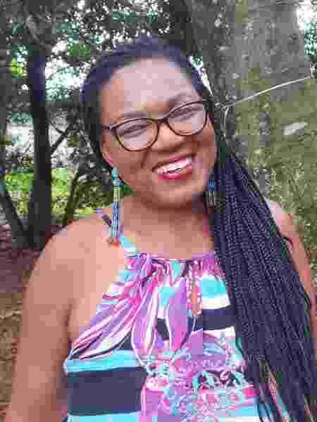 Ana gosta da versatilidade das tranças - Acervo pessoal - Acervo pessoal