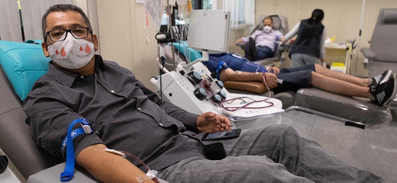 Boliviano mobiliza brasileiros a doar sangue e ajuda hospitais na pandemia - Divulgação