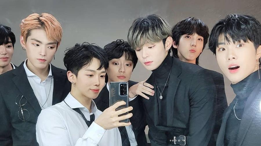Os jovens do BLITZERS, grupo de k-pop que ainda aguarda sua estreia no mercado - Reprodução/Instagram