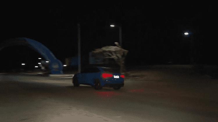 Ítalo e o Audi RS Q3 Sportback - REPRODUÇÃO - REPRODUÇÃO