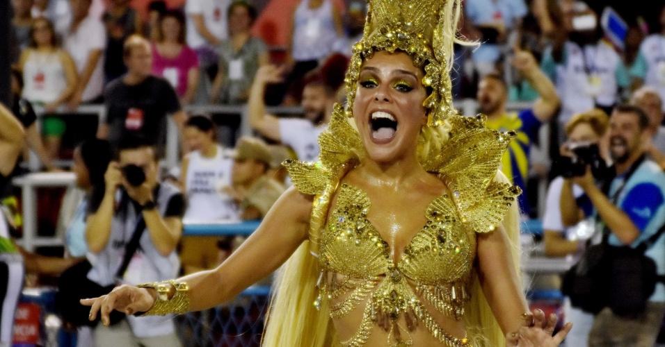 Paloma Bernardi, rainha da Grande Rio
