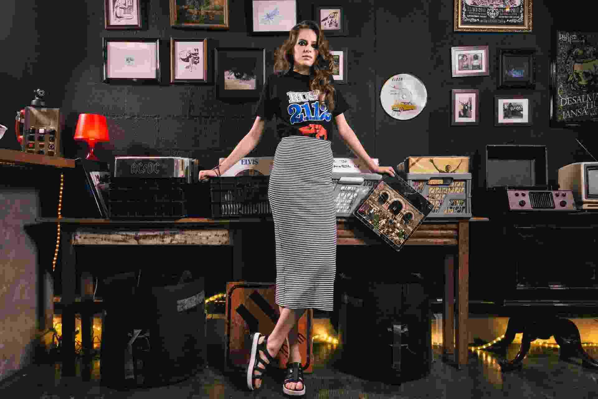 Editorial camisetas de banda - Rush - Gabriel Quintão/UOL
