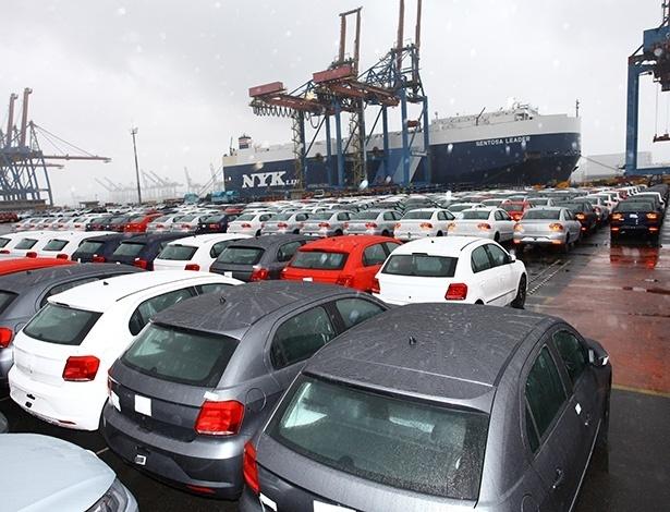 Volkswagen encaminha lote de Gol, Voyage e Saveiro para o país vizinho - Divulgação