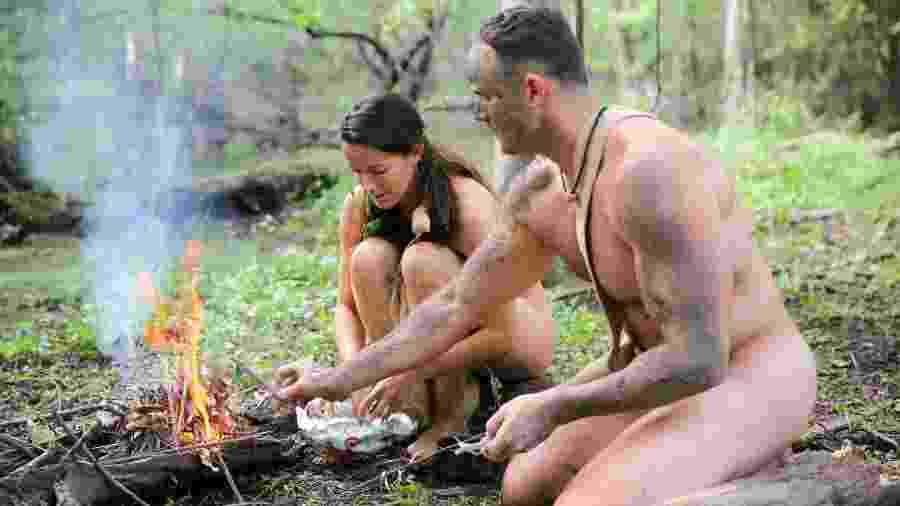 """Cena de """"Largados e Pelados"""", programa mais visto do canal Discovery - Divulgação/Discovery"""