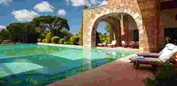 A maior suíte do mundo ainda conta com duas piscinas privativas - Divulgação/Grand Hills Hotel & Spa - Divulgação/Grand Hills Hotel & Spa
