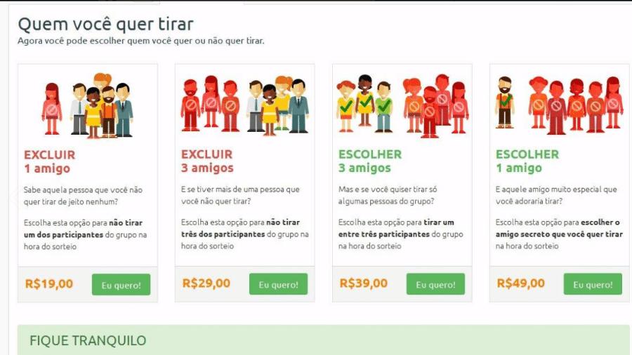 Reprodução/amigosecreto.com.br