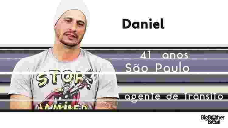 "Daniel ""BBB17"" - Reprodução/TV Globo - Reprodução/TV Globo"