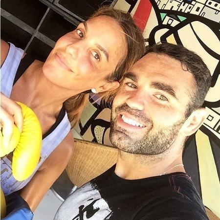 4.mar.2017 - Ivete Sangalo e o personal trainer Chico Salgado - Reprodução/Instagram/chico_salgado