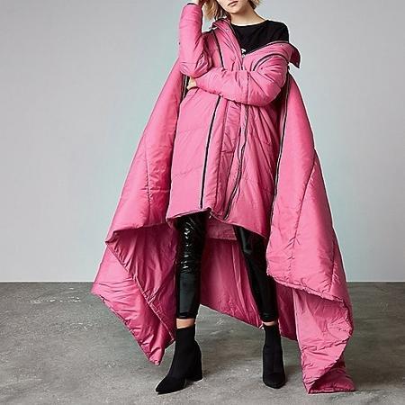 Casaco-cobertor - Divulgação