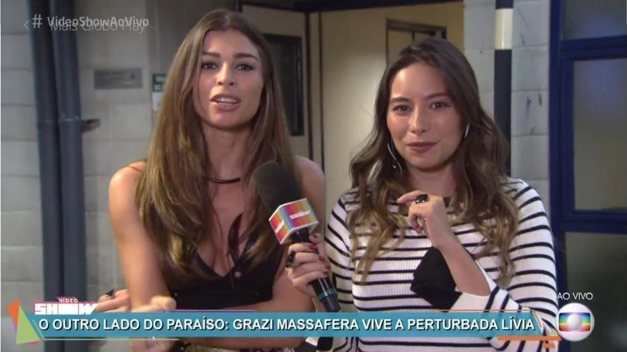 """Grazi fala sobre a vilã Livia em """"O Outro Lado do Paraíso"""" - Reprodução/Globo"""