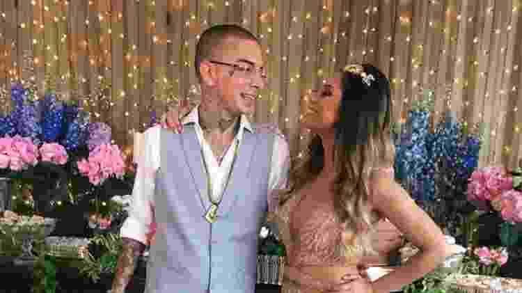 Guime e Lexa em festa de noivado na mansão do casal em São Paulo - Arquivo pessoal/Divulgação - Arquivo pessoal/Divulgação