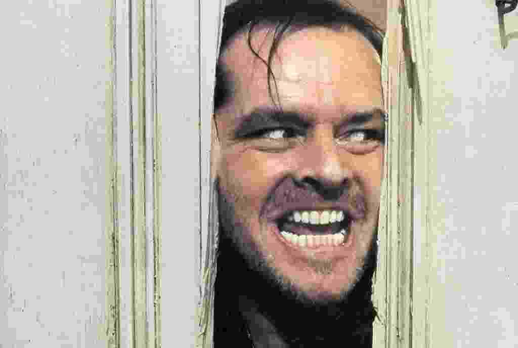 """Jack Nicholson em cena de """"O Iluminado"""" (1980) - Divulgação"""