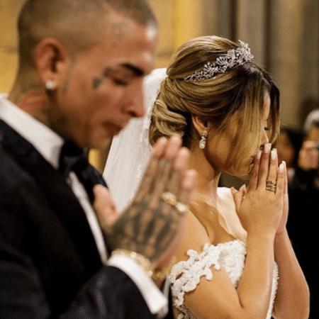 Lexa comemora uma semana de casada com MC Guimê - Reprodução/Instagram