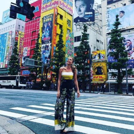 Grazi Massafera no Japão - Reprodução/Instagram