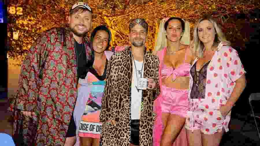 Giovanna Ewbank promove festa do pijama ao lado de famosos - Manuela Scarpa/Brazil News