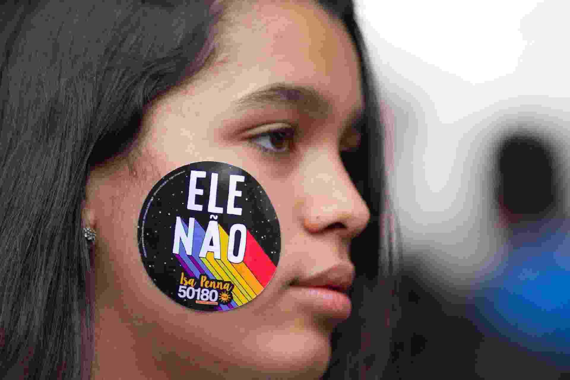 2º Ato Mulher contra o Fascismos - 06 de Outubro - KEVIN DAVID/A7 PRESS/ESTADÃO CONTEÚDO