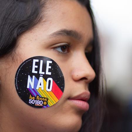 Ato começou no vão do Masp, em São Paulo (SP) - KEVIN DAVID/A7 PRESS/ESTADÃO CONTEÚDO
