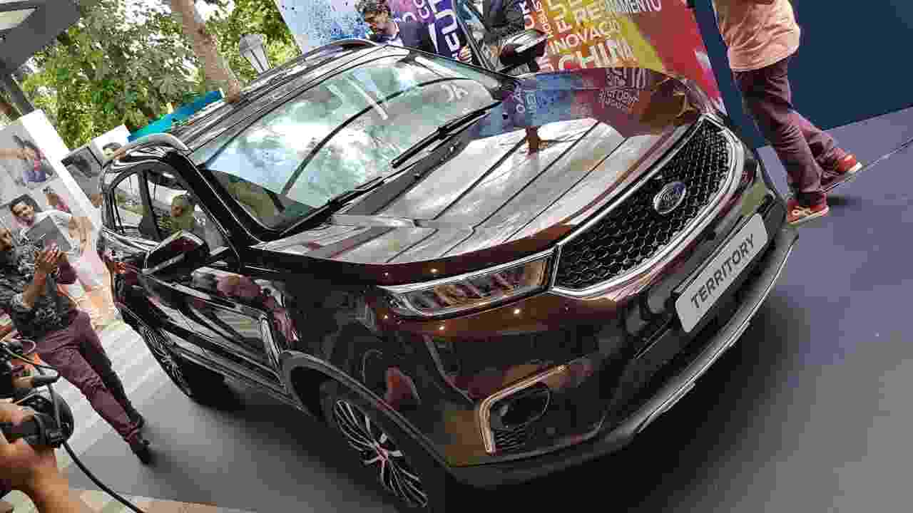 Ford Territory 2019 real - Murilo Góes/UOL