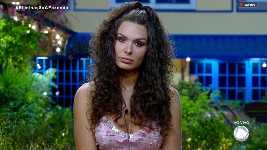 """Fernanda Lacerda ouve Marcos Mion falar sobre a sétima roça de """"A Fazenda 10"""" - Reprodução/RecordTV"""