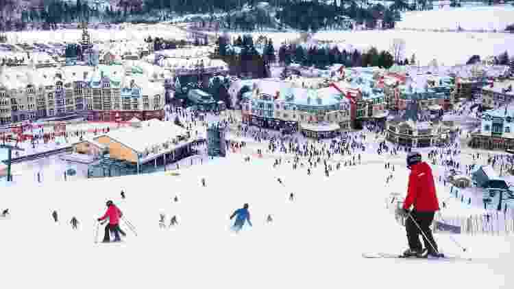 Resort de esqui Mont-Tremblant, no Canadá  - Getty Images - Getty Images
