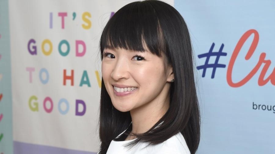 A japonesa Marie Kondo, de 34 anos, se transformou em um fenômeno mundial com suas dicas de organização - Getty Images
