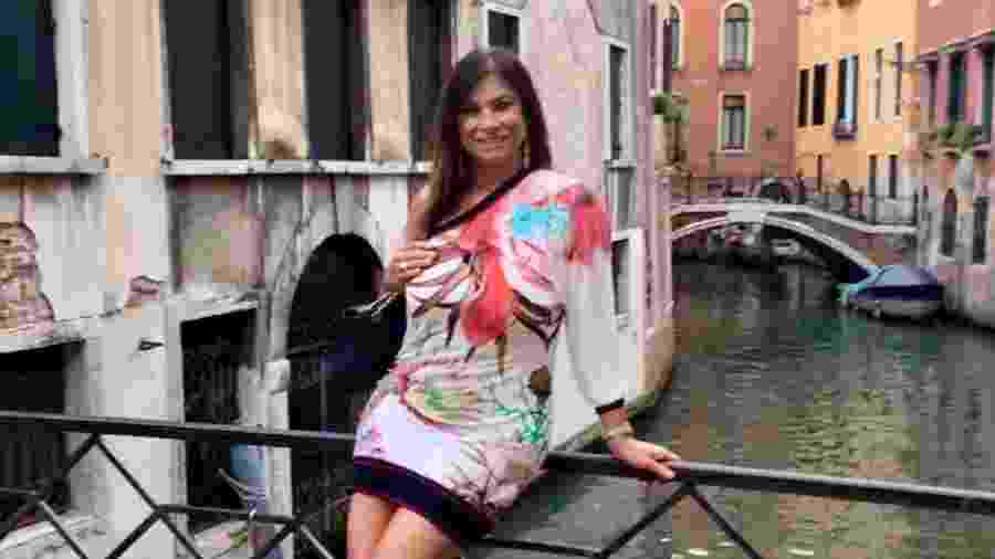 """Lilian se """"refugiou"""" na Itália depois do flagra sem calcinha ao lado do então presidente Itamar Franco na Sapucaí - Reprodução/Instagram/@lilianramos"""