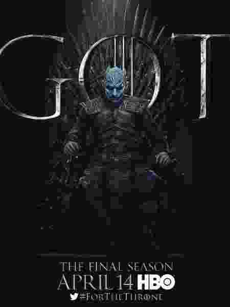 """Vladimir Furdik como o Rei da Noite em """"Game of Thrones"""" - Reprodução/EW"""